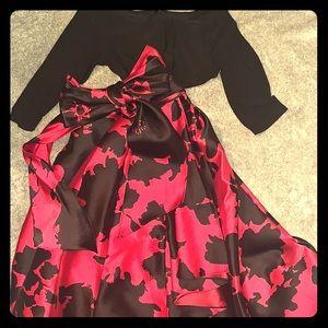 Maxi high/low dress